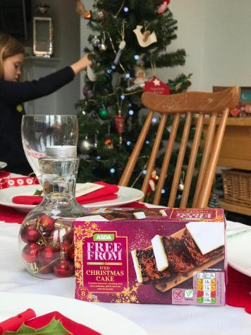 Asda gluten and booze free Christmas Cake