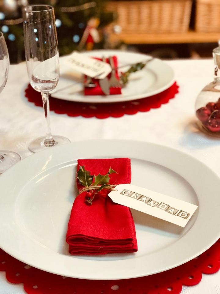 Table setting grandad